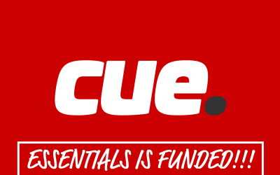 cue Essentials funding reached!